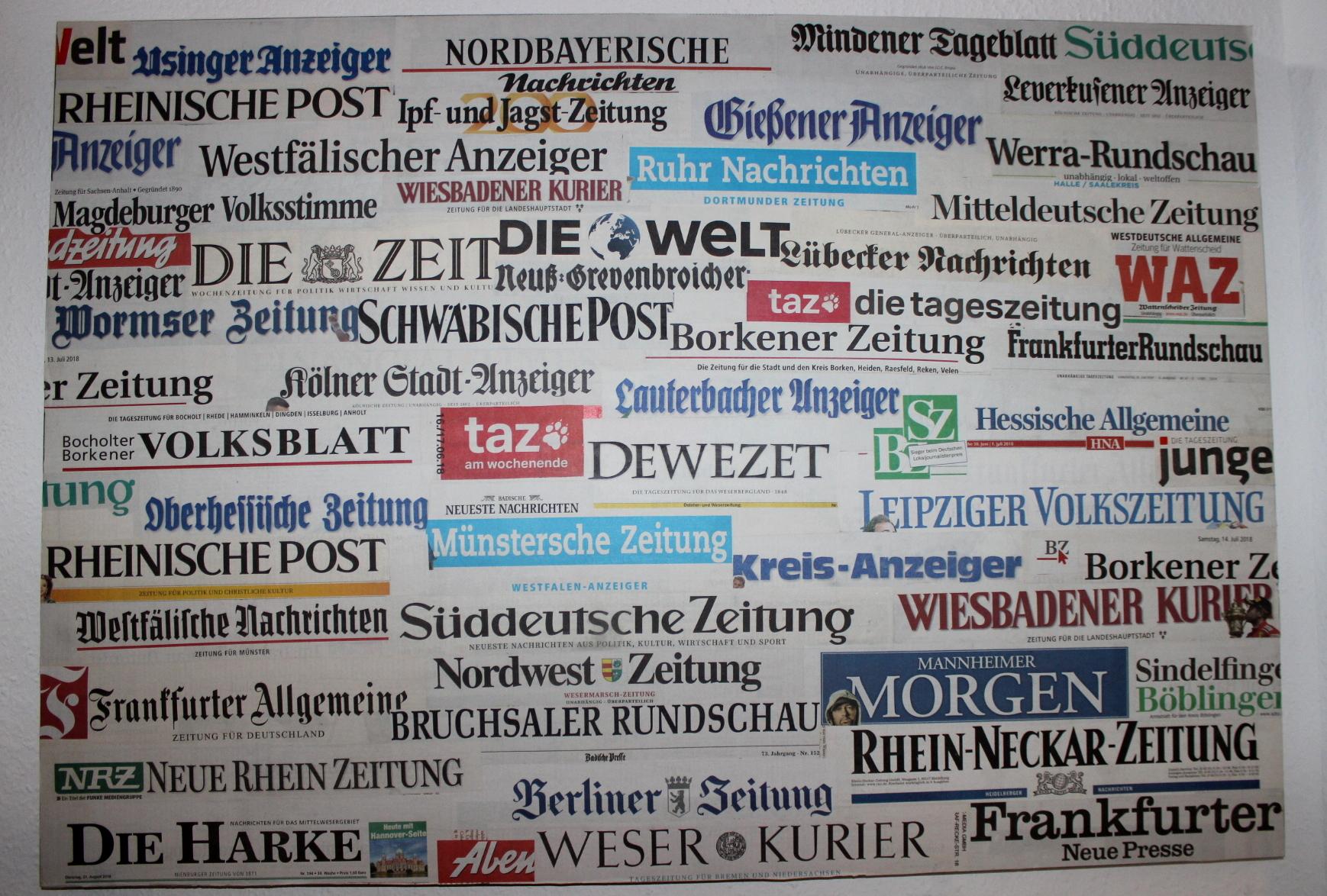 Oldnews Zeitungen