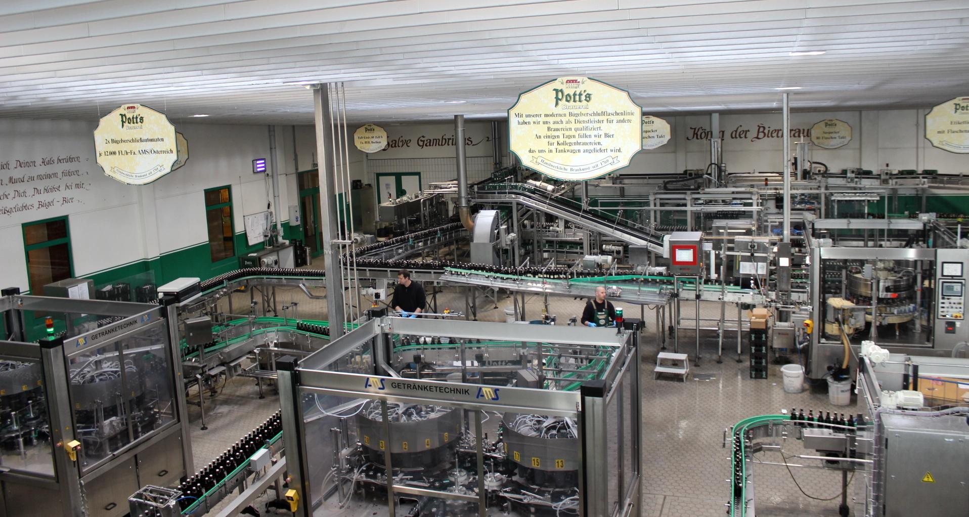 Potts Produktion