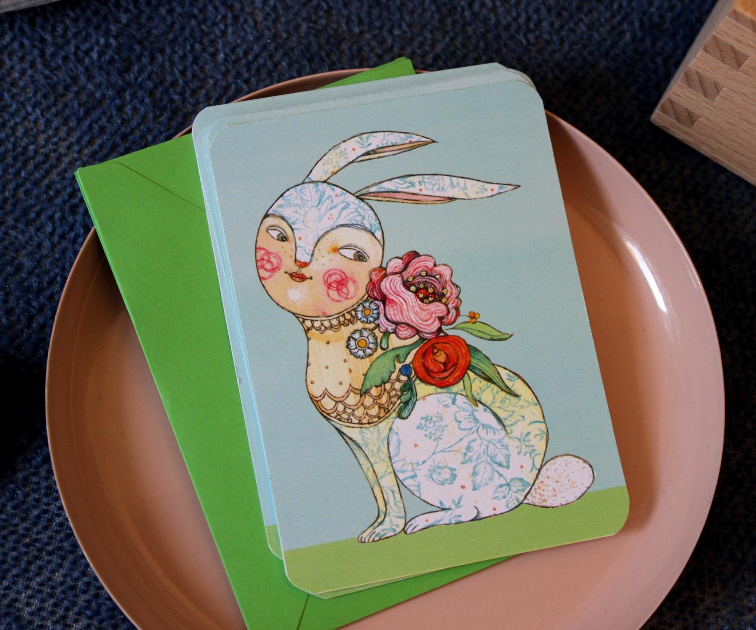 Selda Soganci Postkarte