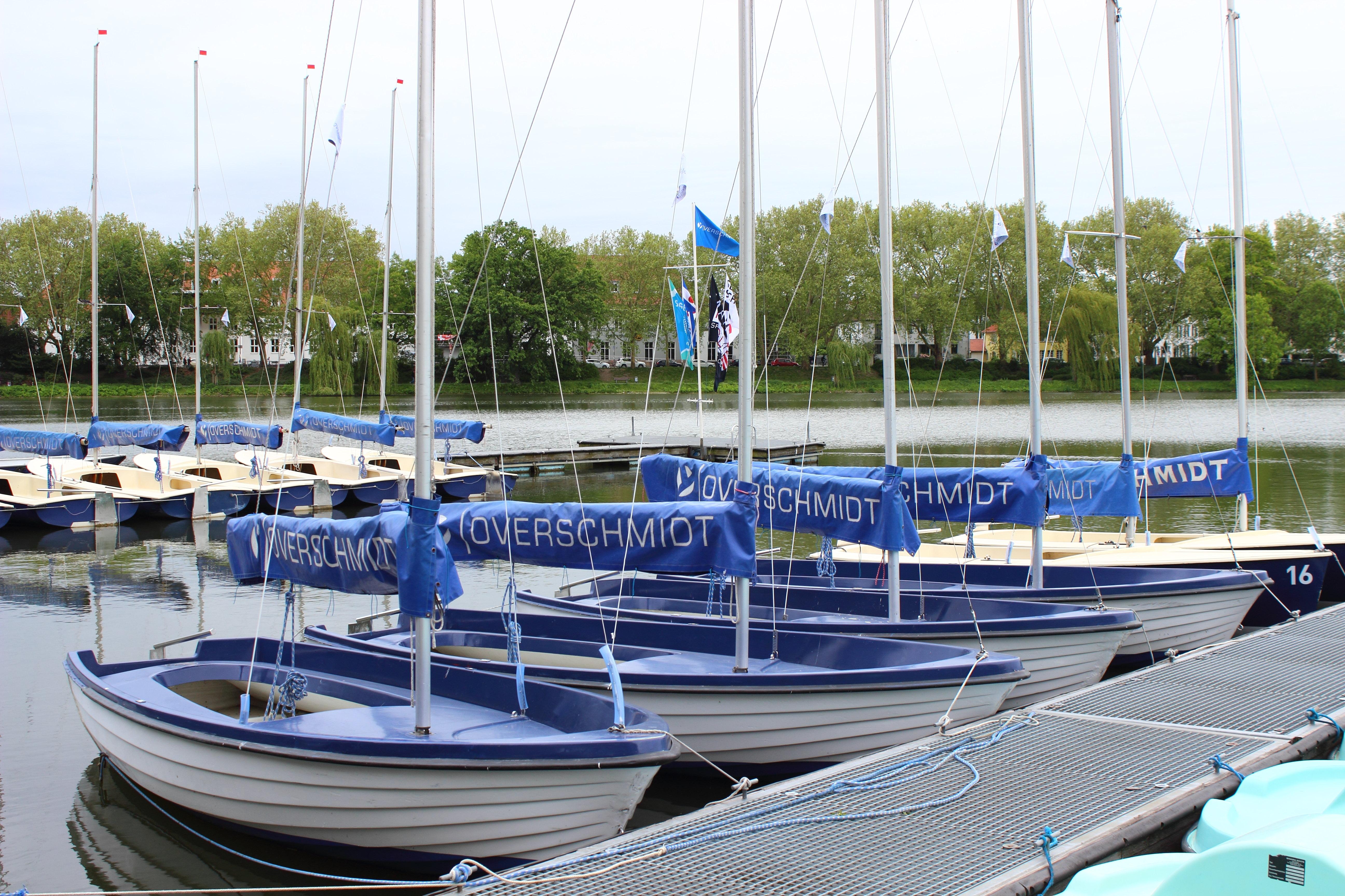 Aasee Overschmidt Segelboote