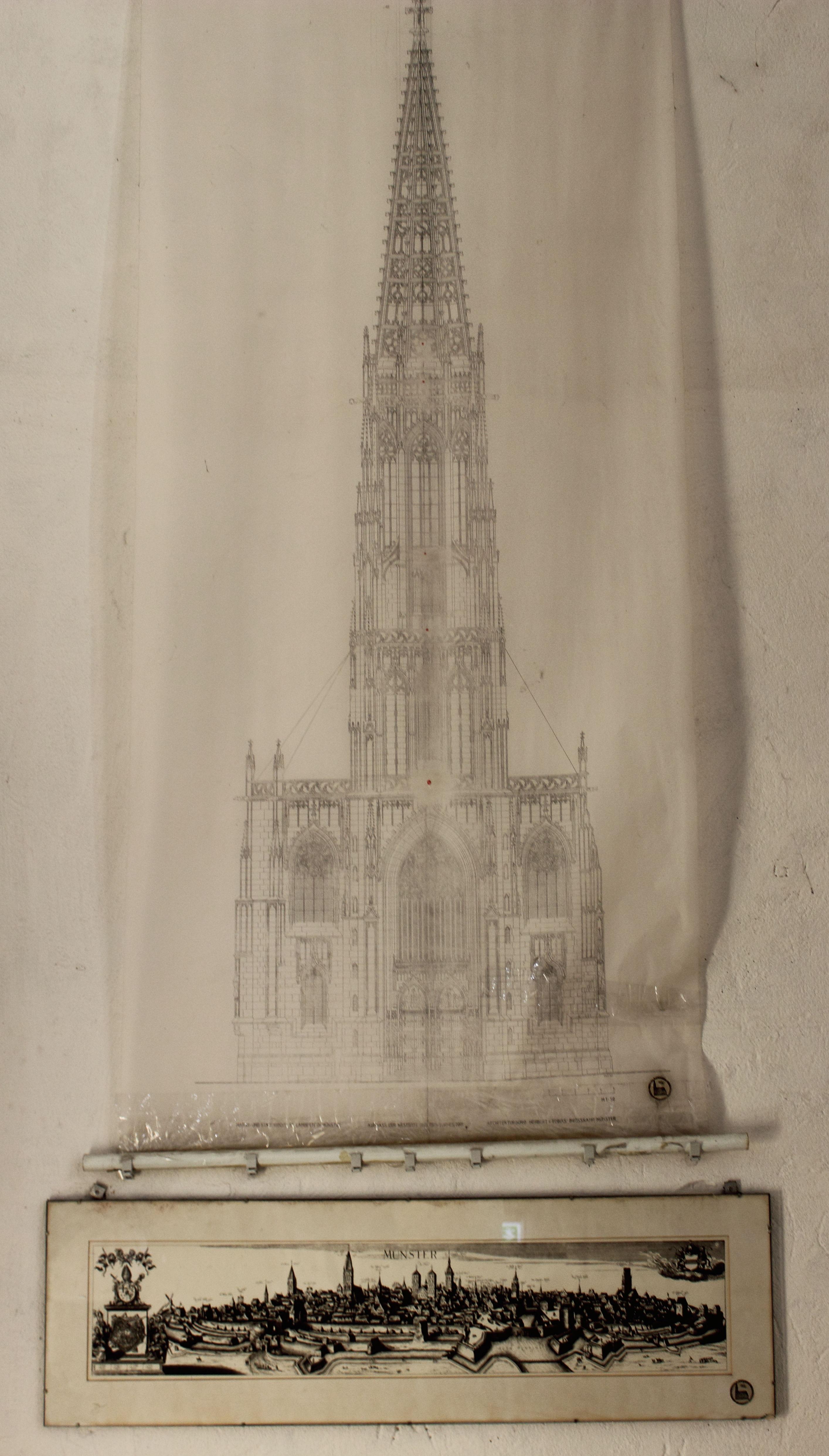 Lambertikirche Münster Skizze