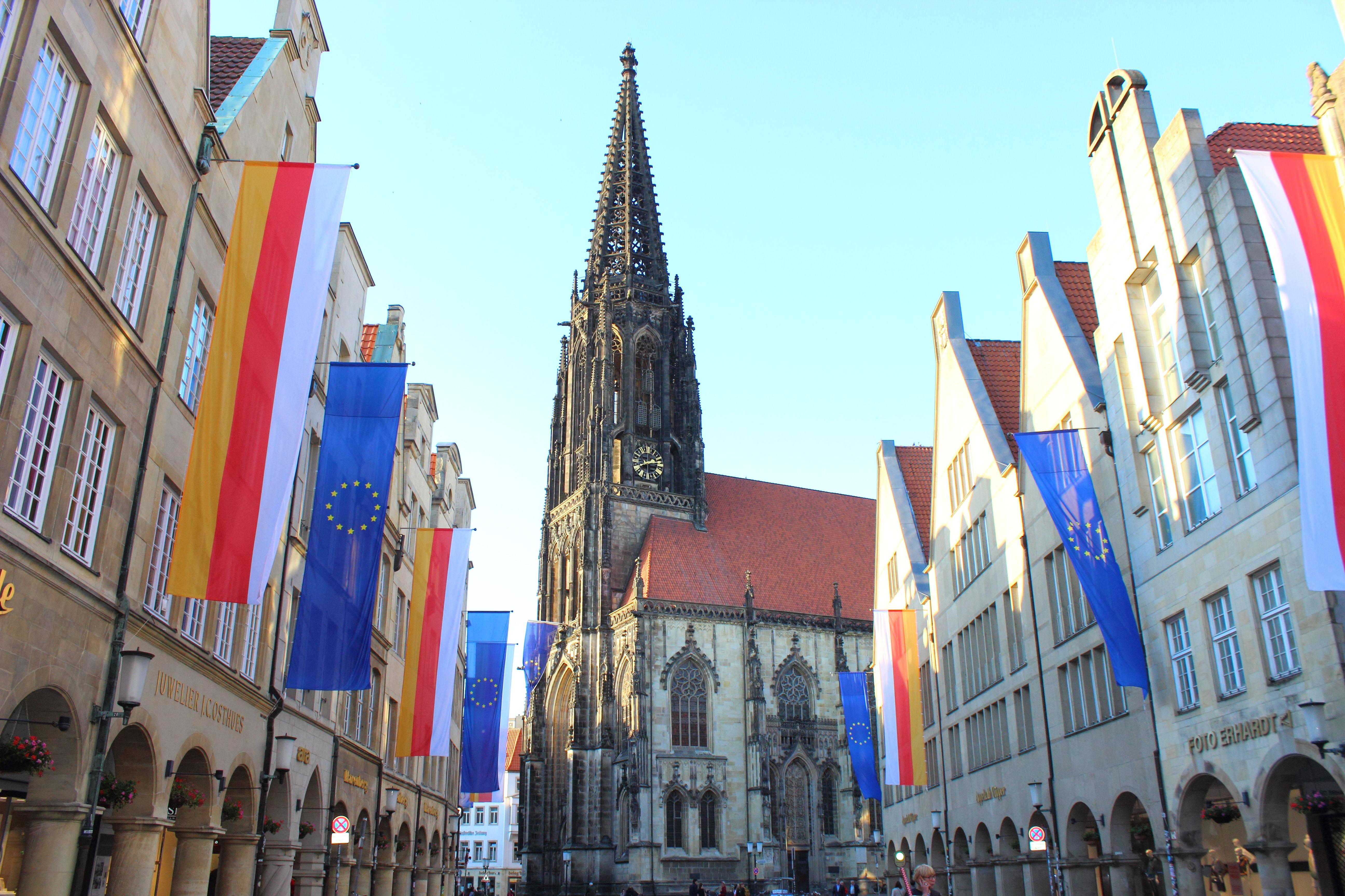 Münster Prinzipalmarkt Europa