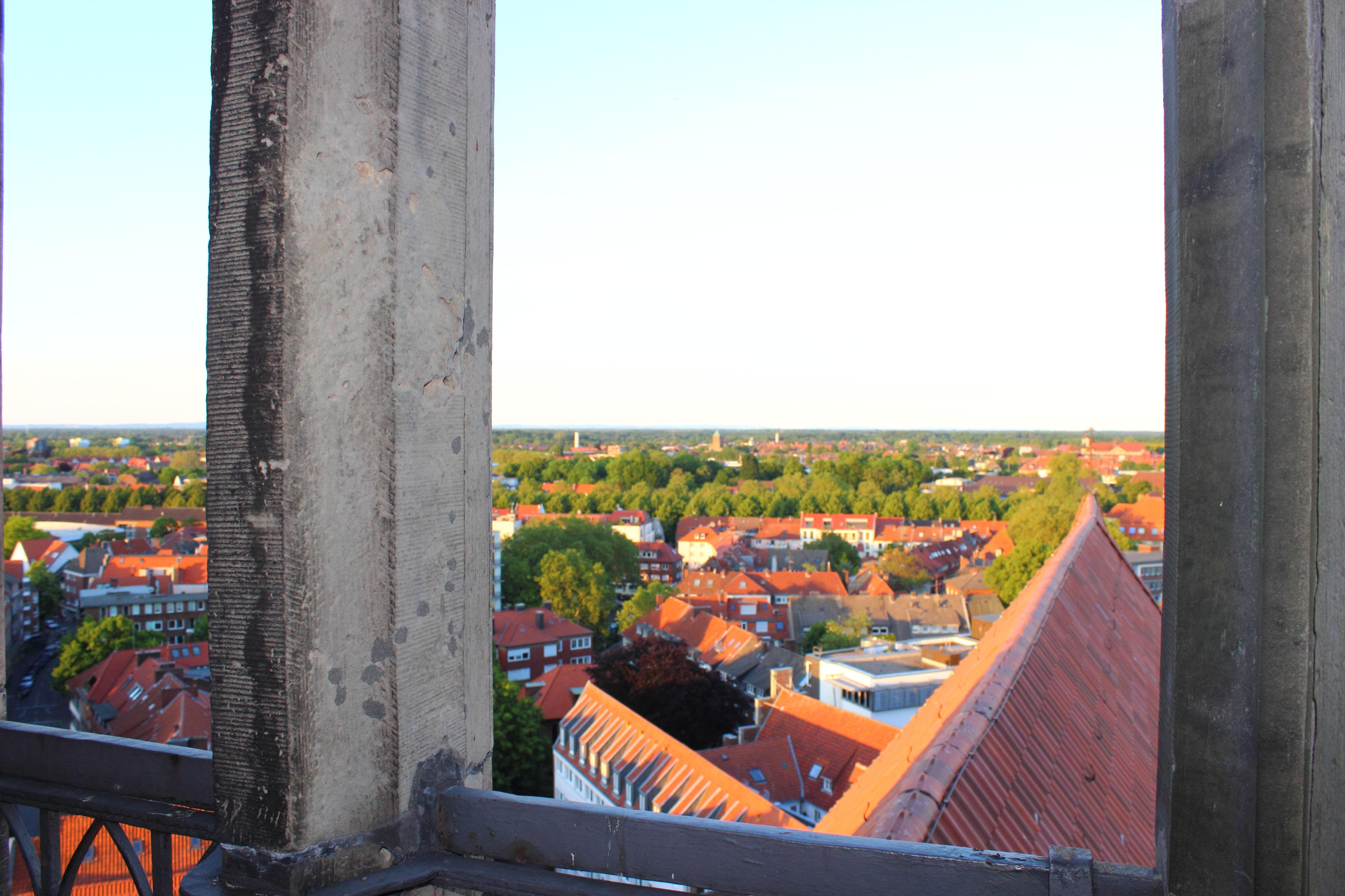 Münster St. Lamberti Ausblick Grüngürtel