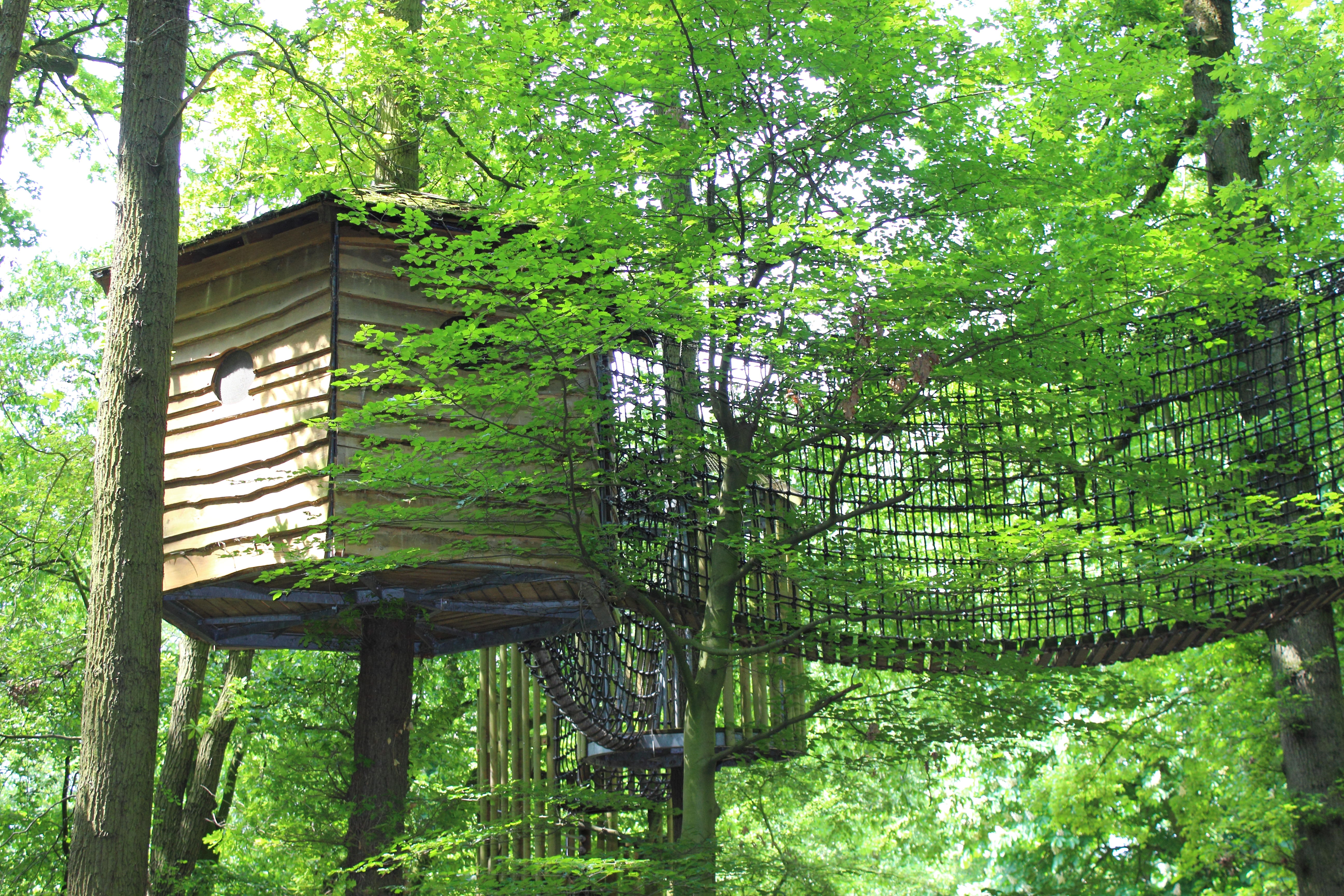 Vier Jahreszeiten Park Oelde Baumhäuser
