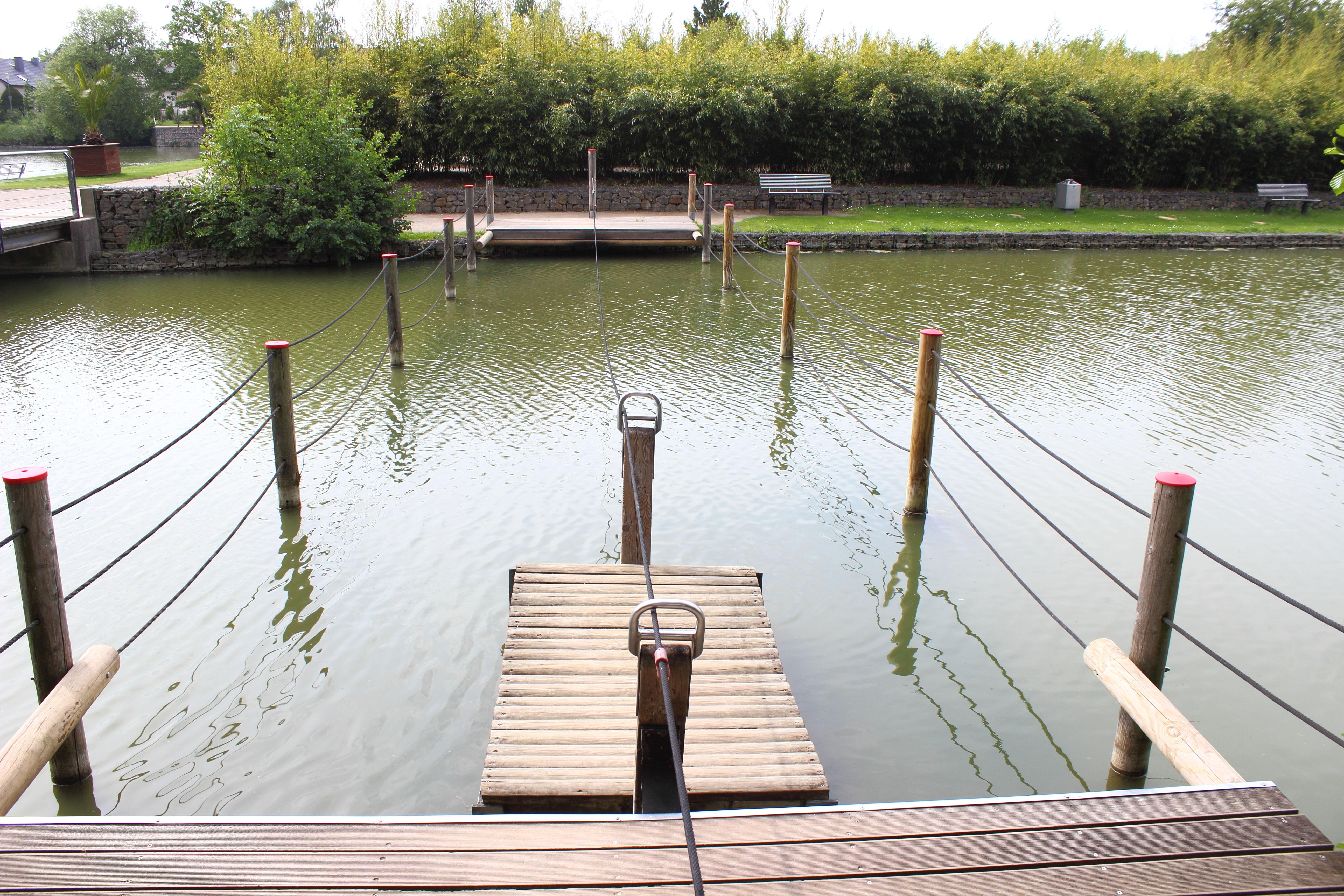 Vier Jahreszeiten Park Oelde Floß