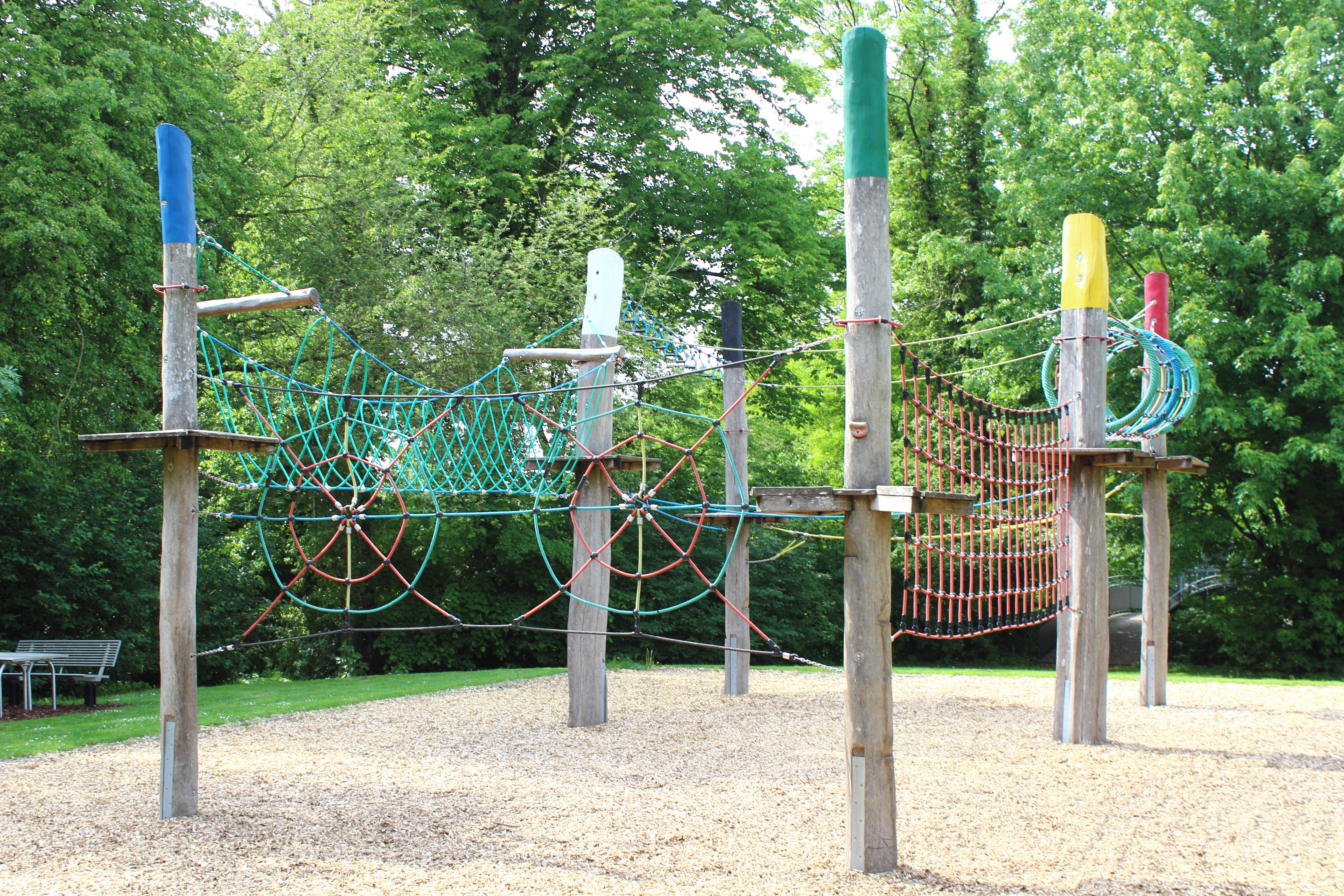 Vier Jahreszeiten Park Oelde Niedrigseilgarten
