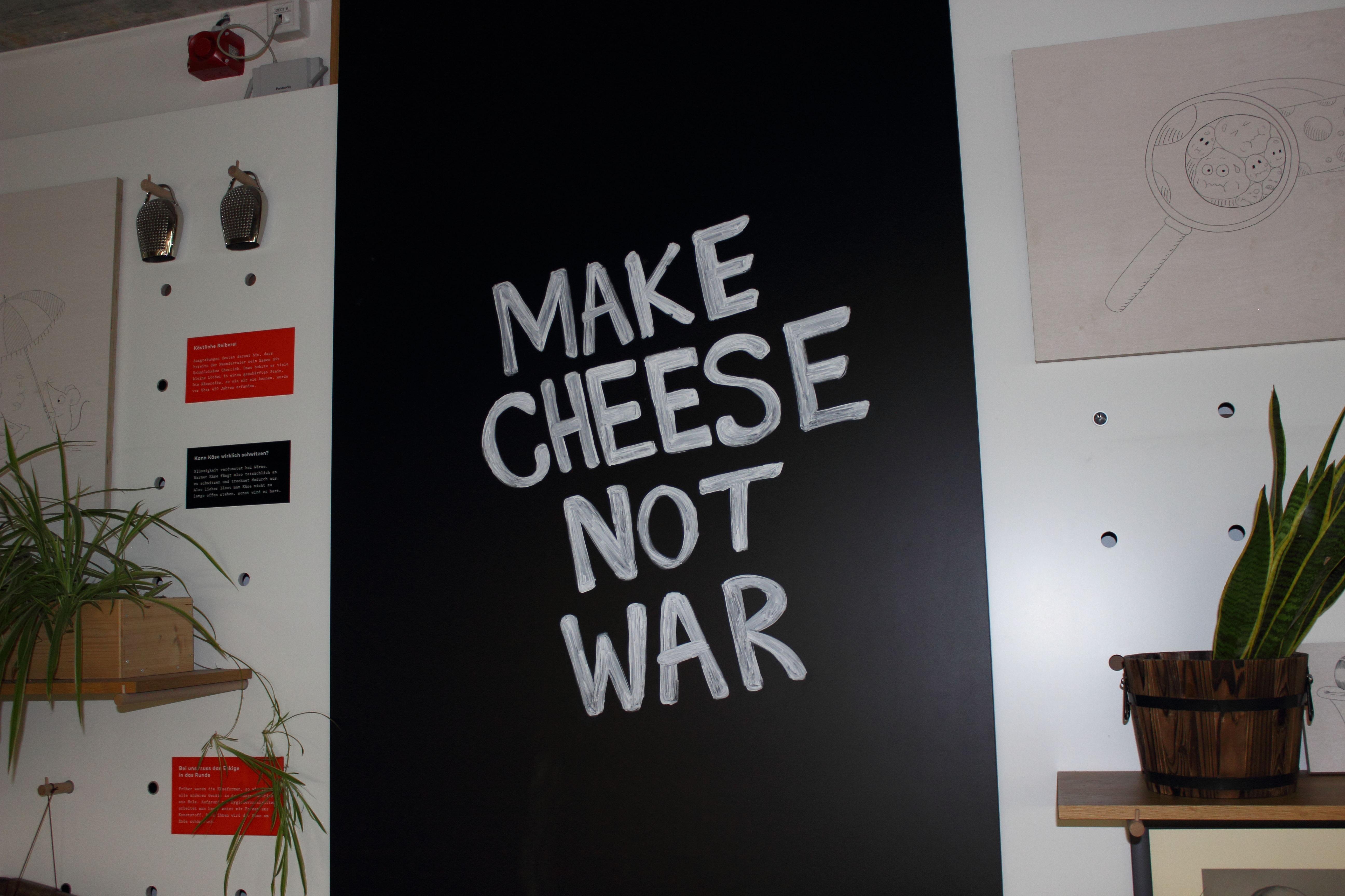 Hafenkäserei Make cheese