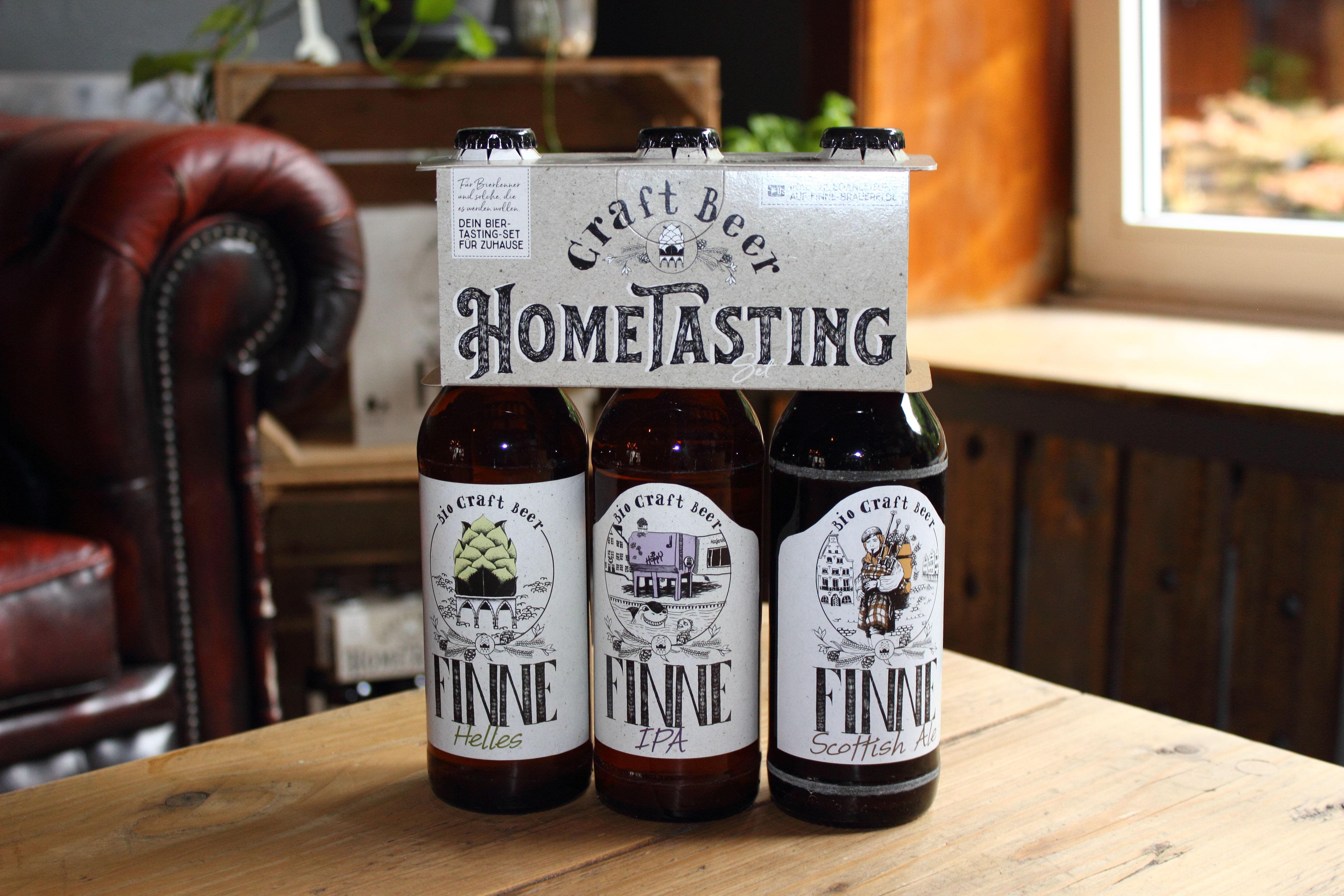 Finne Brauerei Hometasting