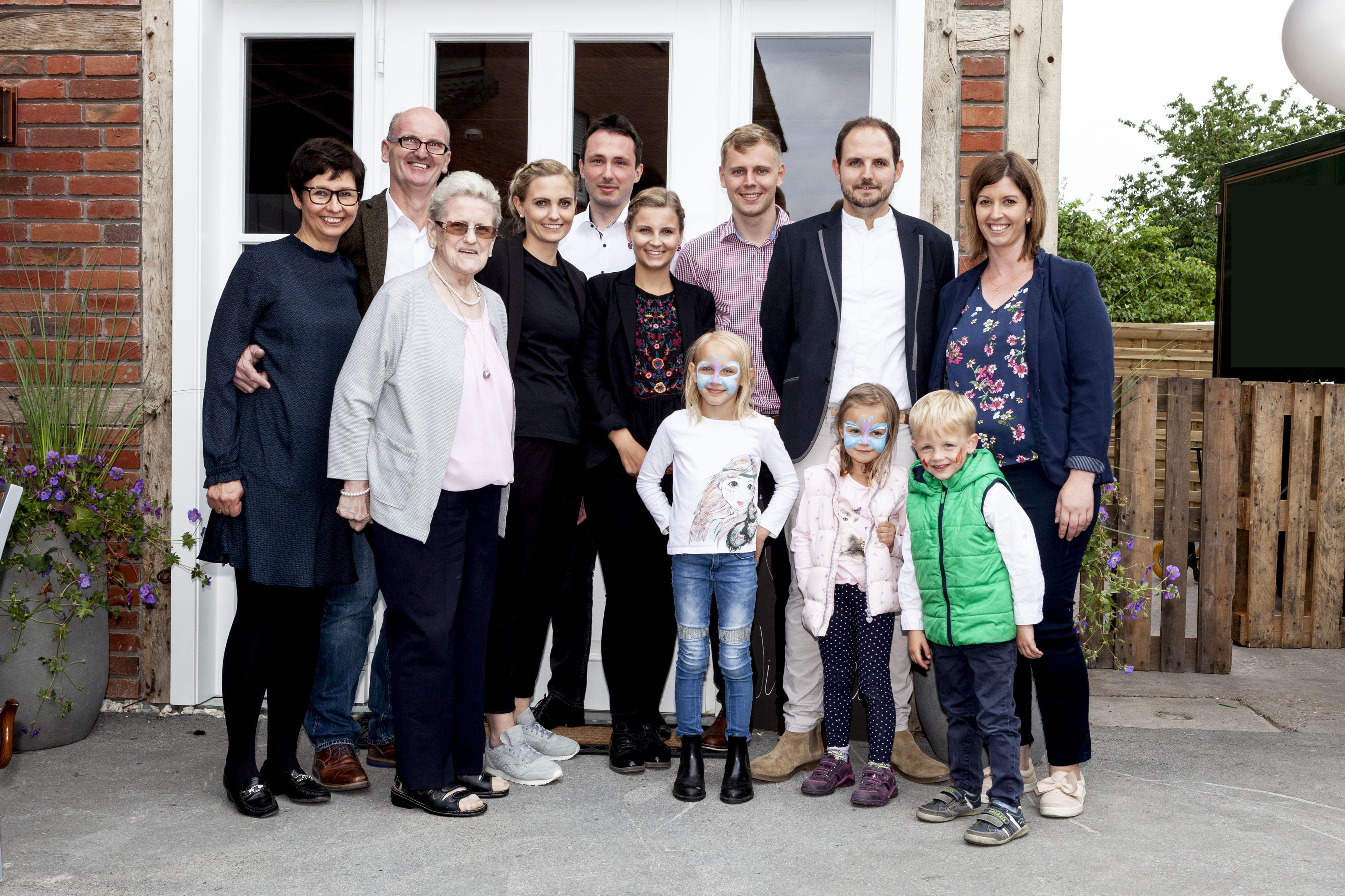 Familie Teeke Stromberg