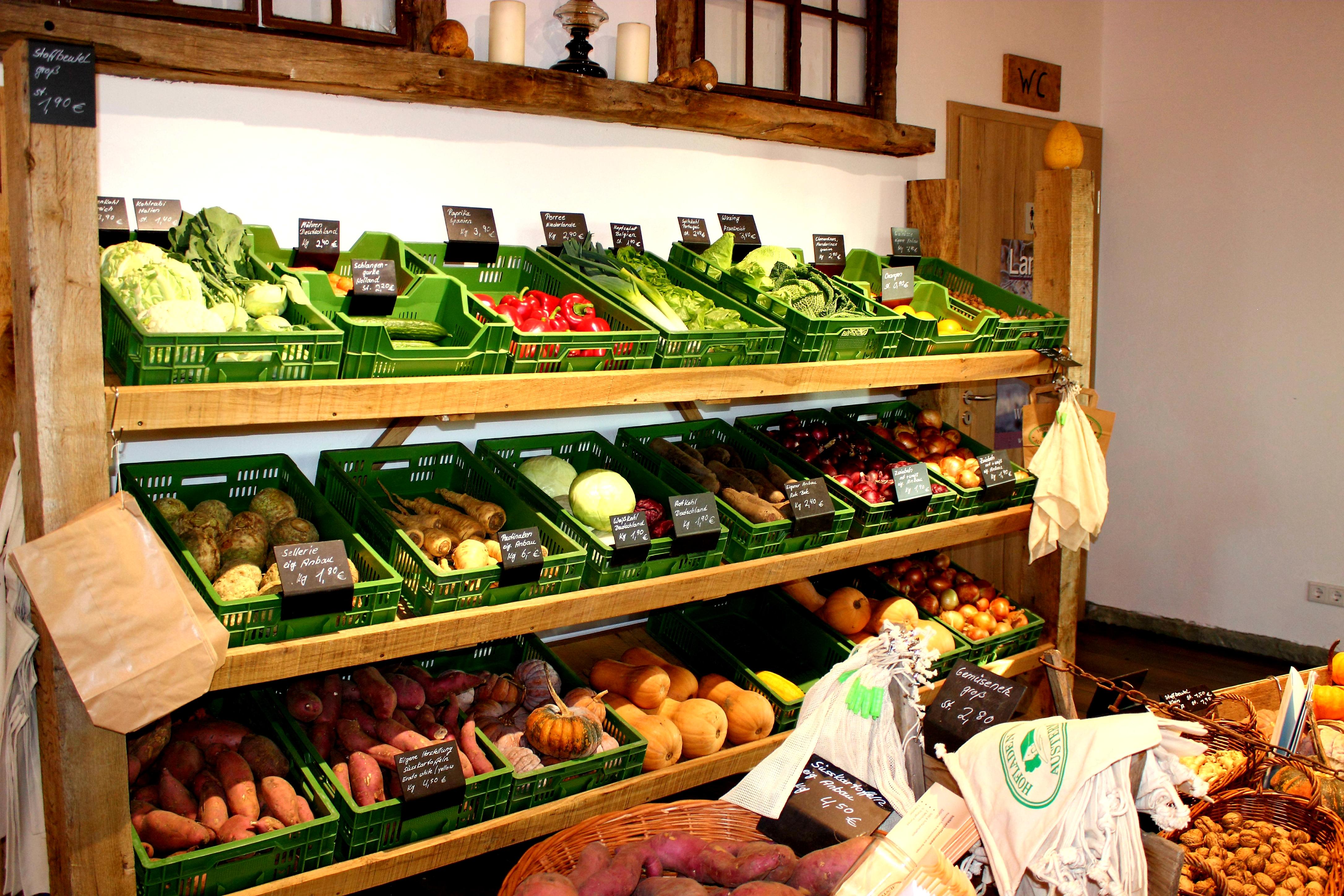 Hofladen Austermann Gemüse
