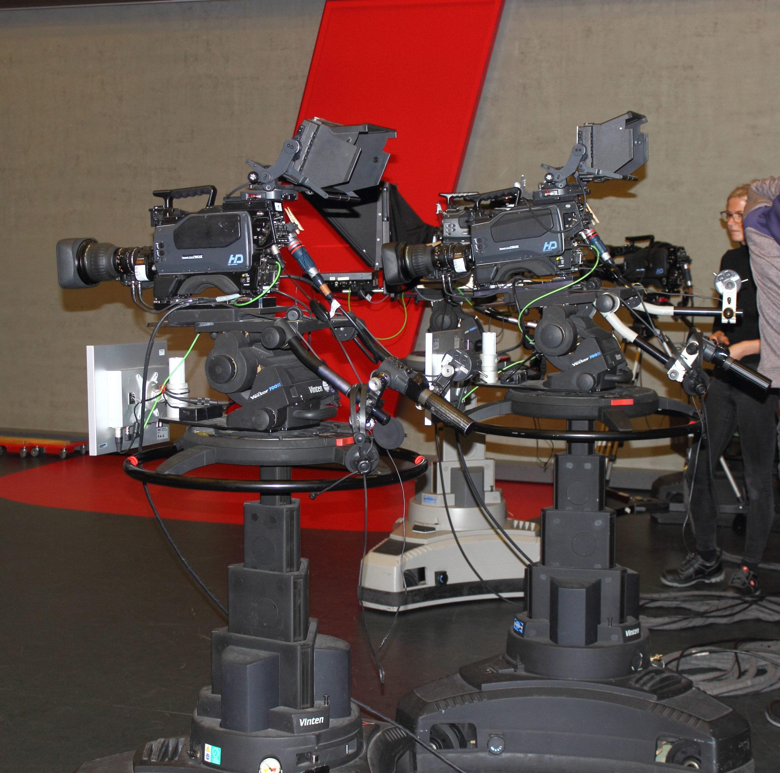 WDR Hier und Heute Kameras