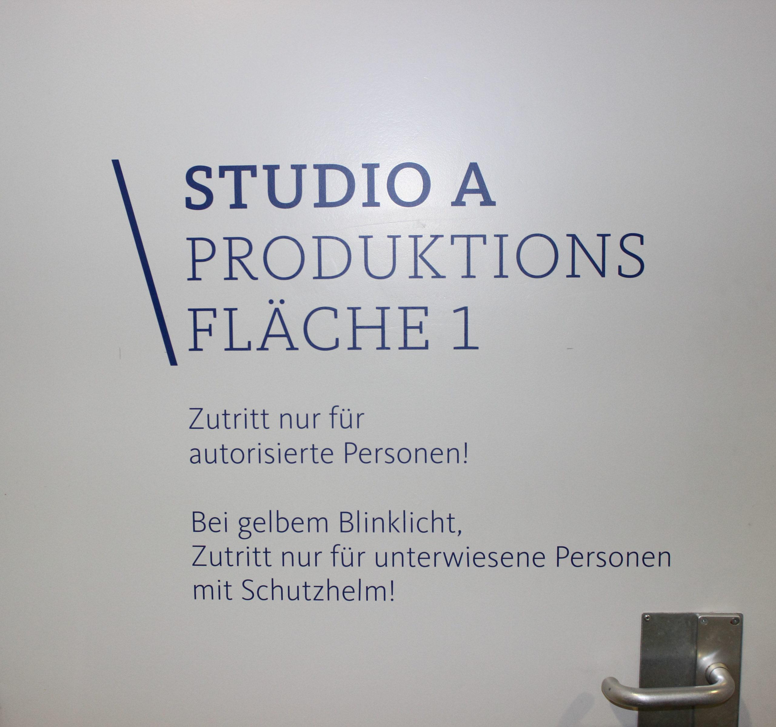 WDR Hier und heute Studio