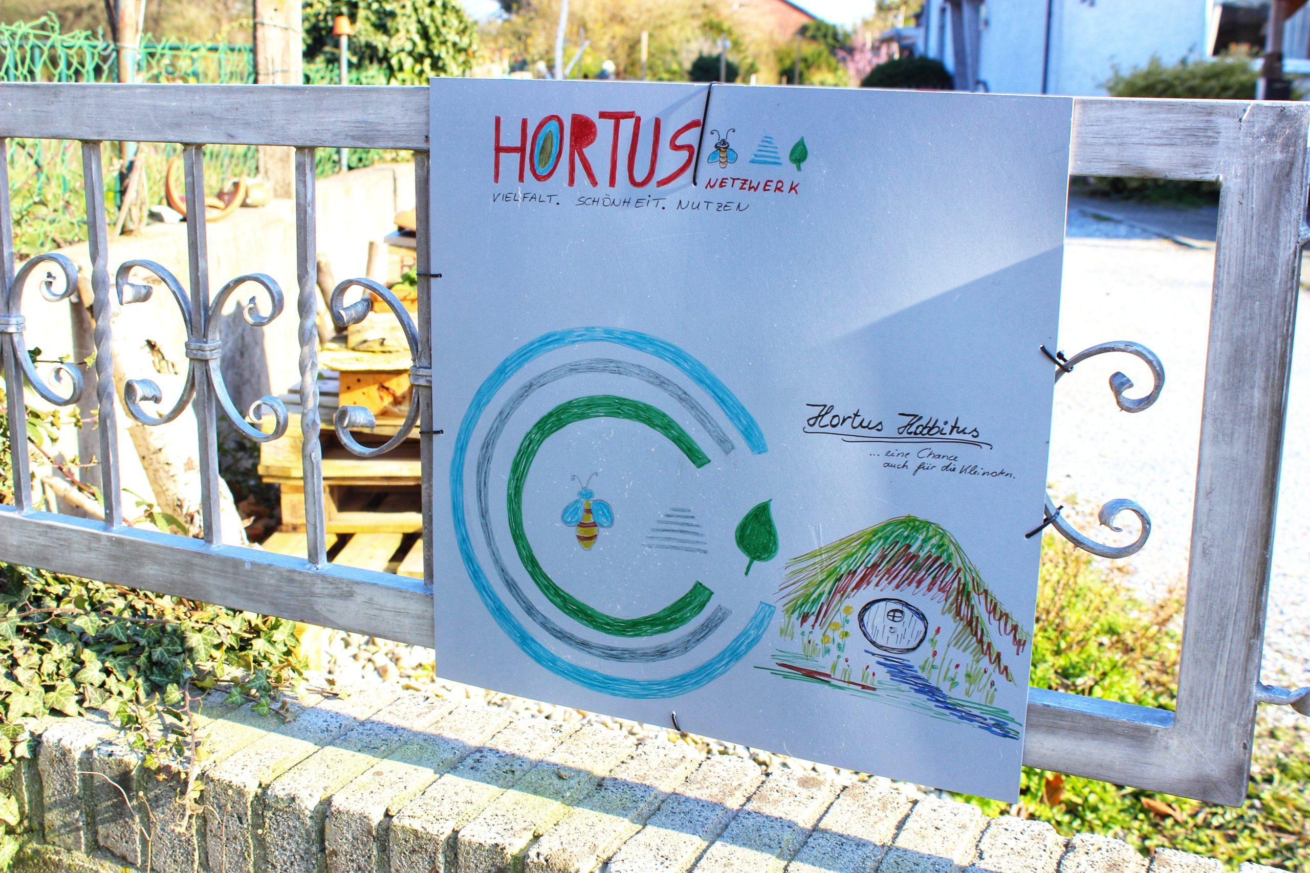 Hortus Hobbitus Beckum Schild