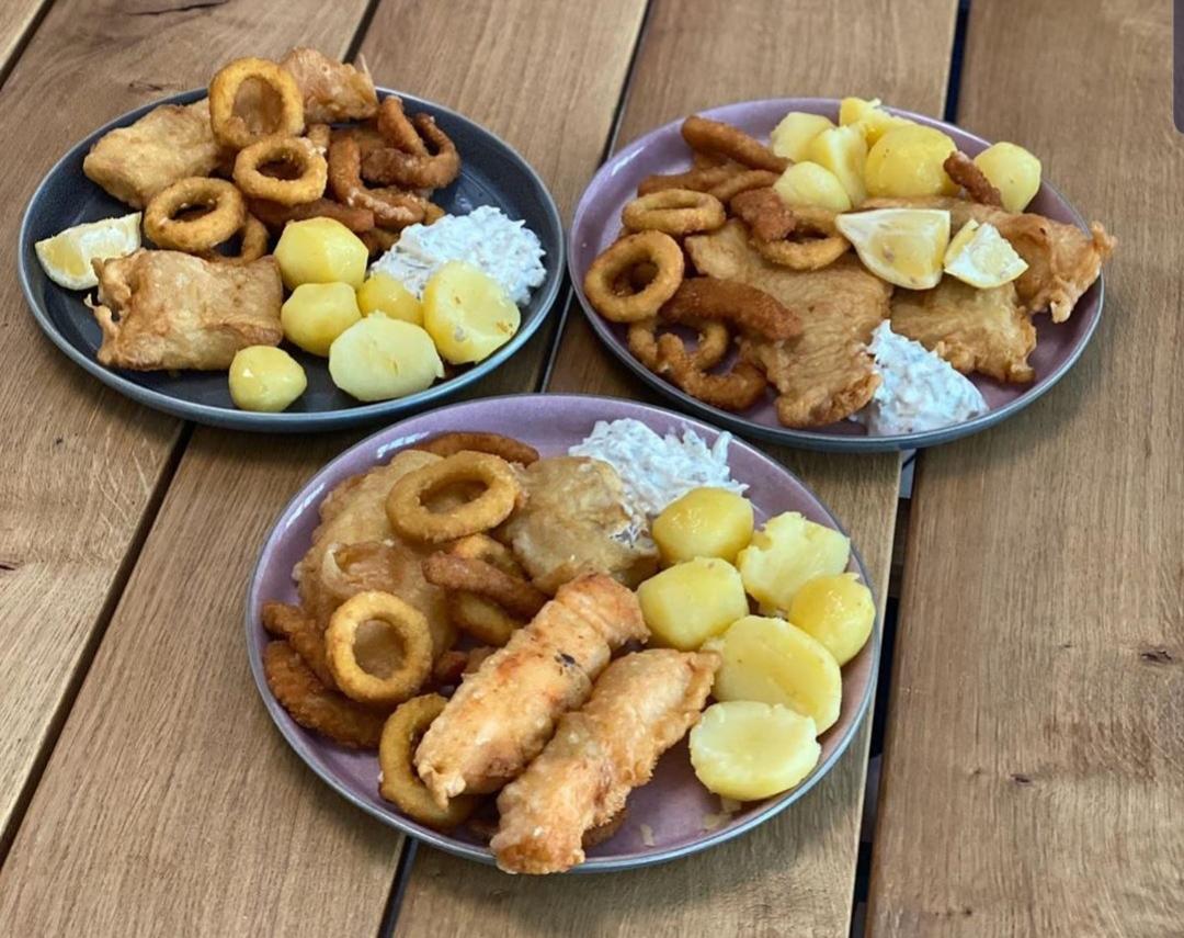 Fischbrathalle Münster Menü