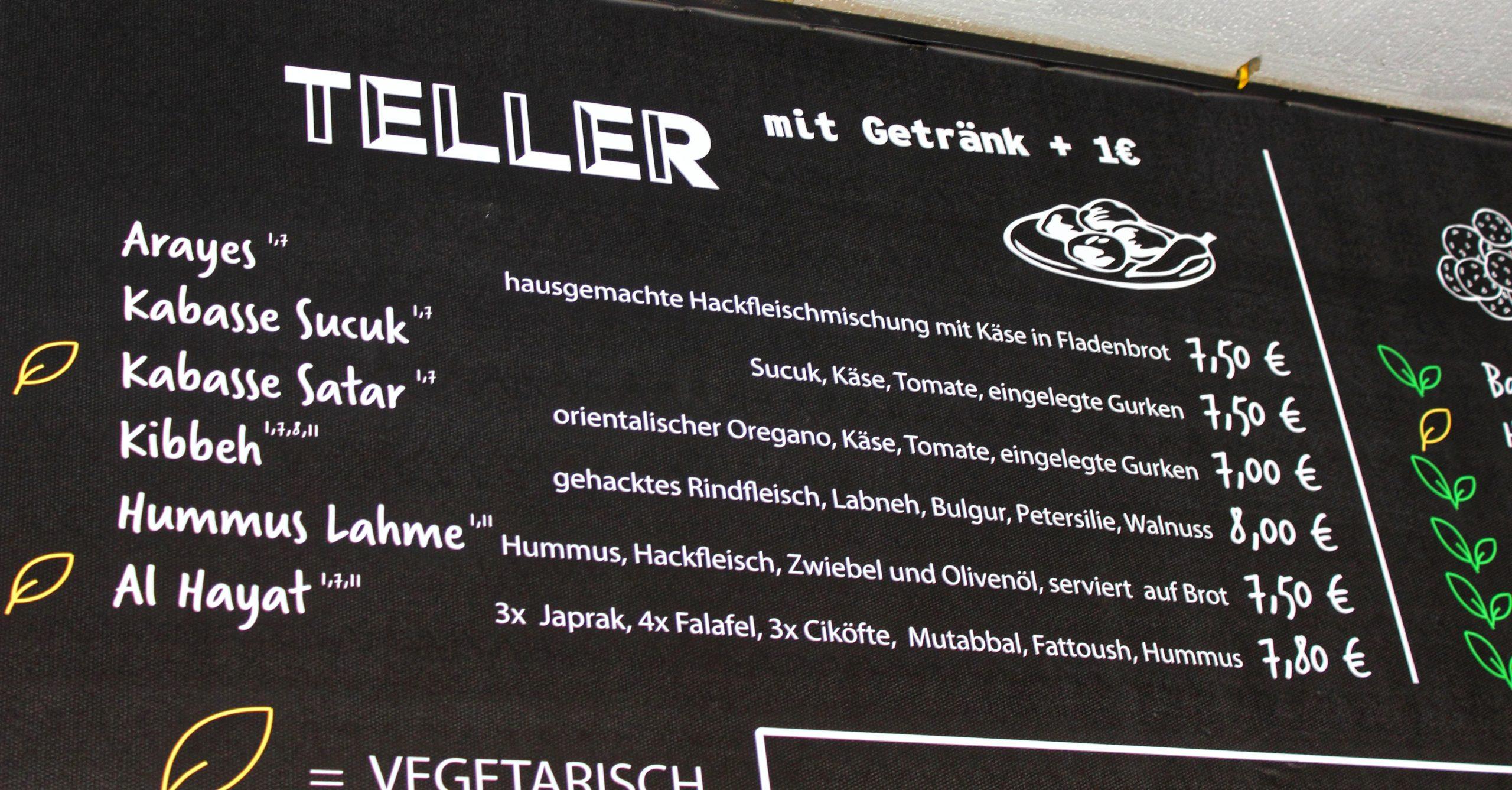 Al Hayat Münster Speisekarte-01