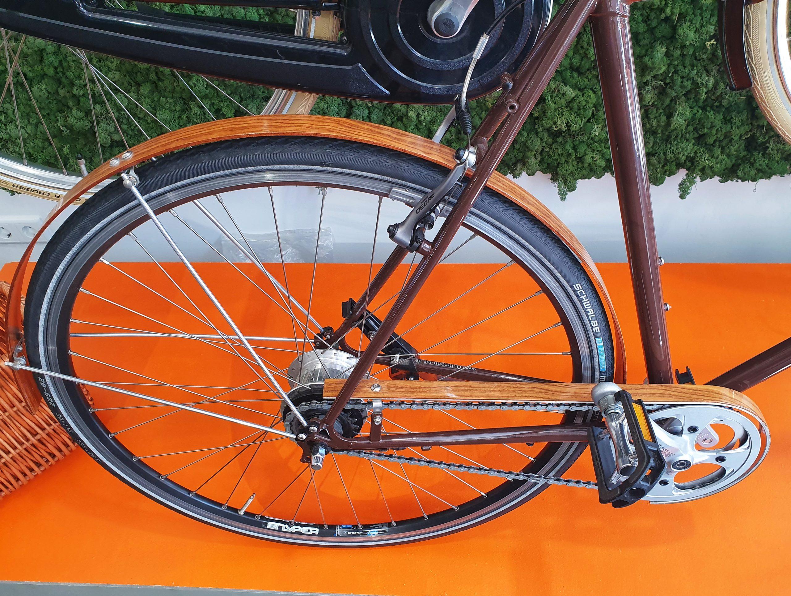 Fahrrad Manufaktur Quitmann Holzabdeckung
